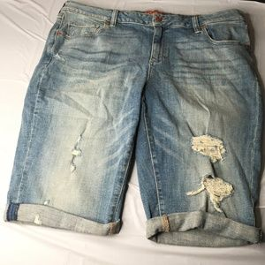Lucky Brand Jean Shorts Size 18W SKUG7